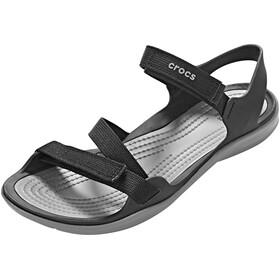 Crocs Swiftwater Webbing Sandals Women Black